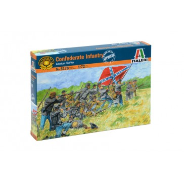 CONFEDERATE INFANTRY 1:72