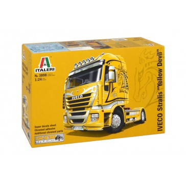 DISC.. IVECO STRALIS YELLOW DEVIL 1:24