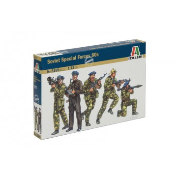SOVIET SPECIAL FORCES SPETSNAZ 1980S 1:72
