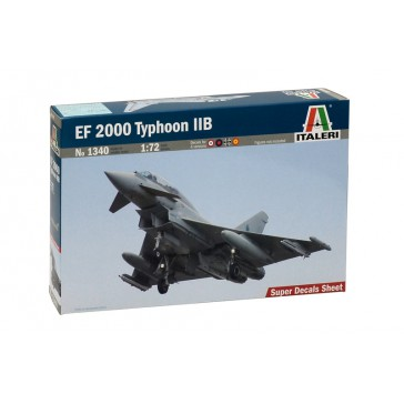 EF 2000 TYPHOON WITH SEATER 1:72