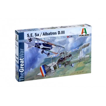 S.E.5A AND ALBATROS D.III 1:72