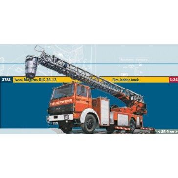 IVECO-MAGIRUS DLK 23-12 FIRE LADDER TRUCK 1:24