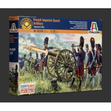 FRENCH IMPERIAL GUARD ARTILLERY 1:72