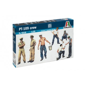 PT 109 CREW AND ACCESSORIES 1:35