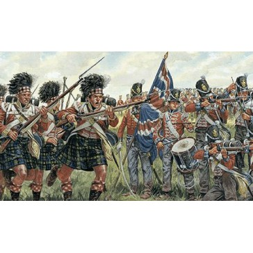BRITISH AND SCOTS INFANTRY 1:72