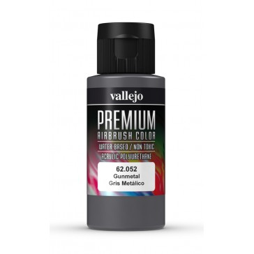 Premium RC acrylic color (60ml) - Gunmetal