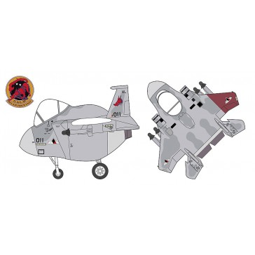 EGG PLANE F15C EAGLE ACE COMB