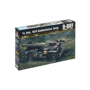 1/4 TON. 4X4 AMBULANCE JEEP 1:35