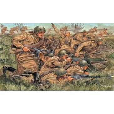 WWII  RUSSIAN INFANTRY 1:72