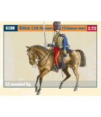 BRITISH 11TH HUSSARS (CRIMEA WAR) 1:72 *