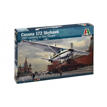 CESSNA 172 SKYHAWK RED SQUARE 1:48