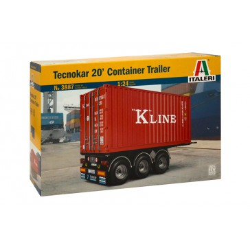 20' CONTAINER TRAILER 1:24