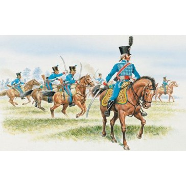 FRENCH HUSSARS (NAP. WARS) 1:72