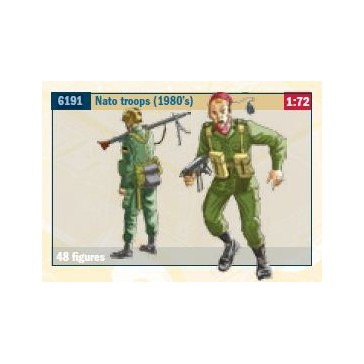 NATO TROOPS (1980S) 1:72 *