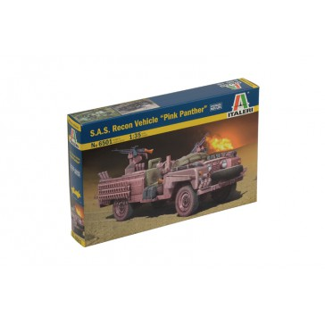 S.A.S. RECON VEHICLE PINK PANTHER 1:35