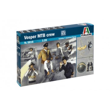 VOSPER CREW AND ACCESSORIES 1:35