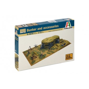 WWIIBUNKER AND ACCESSORIES 1:72
