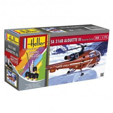 Alouette III Sécurité Civil 1/72