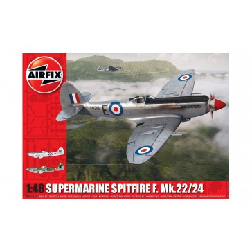 SUPERMARINE SPITFIRE Mk22/24 1/48 (5/18) *
