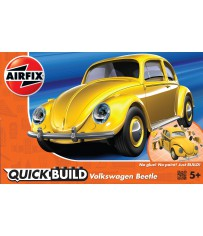 VW BEETLE GEEL QUICKBUILD (3/18) *