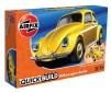 VW BEETLE GEEL QUICKBUILD (3/18) *