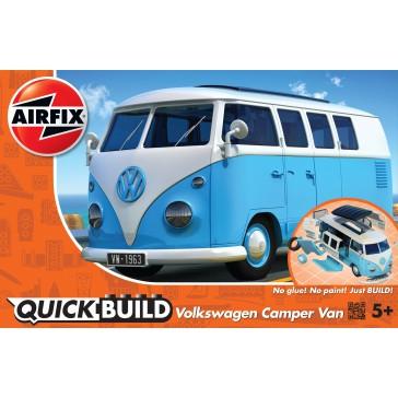 VW CAMPER VAN BLAUW QUICKBUILD (3/18) *