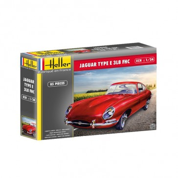 Jaguar Type E 3.8l FHC 1/24