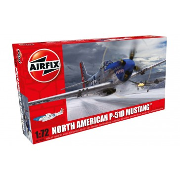 DISC.. NORTH AMER.P-51D MUST.1:72
