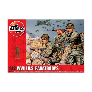 WWII US PARATROOPS 1:72 (4/18) *