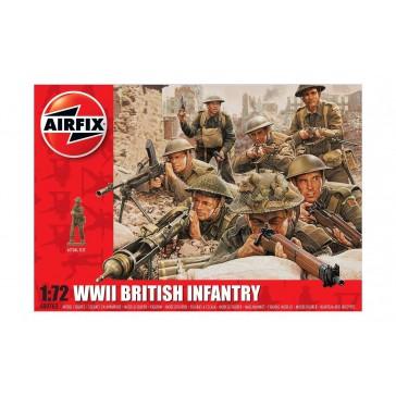 WWII BRITISH INFANTRY N.EUROPE 1:72 (4/18) *