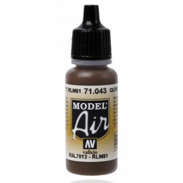 Acrylic paint Model Air (17ml)  - US Olive Drab
