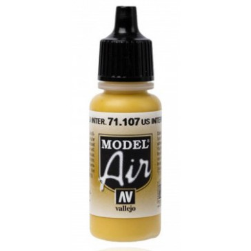 Acrylic paint Model Air (17ml)  - US Interior Yellow