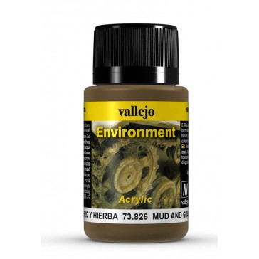 Weathering Effects Environment - Mud and Grass Effect (40 ml.)