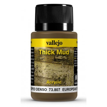 Weathering Effects Thick Mud - European Thick Mud (40 ml.)