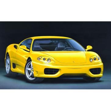 Ferrari 360 Modena jaune