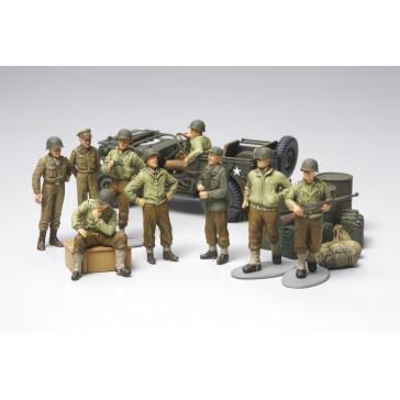 Infanterie U.S. au repos