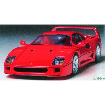 DISC.. Ferrari F40 rouge
