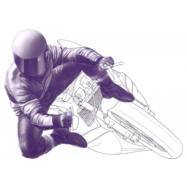 Pilote MotoGP (Virage)