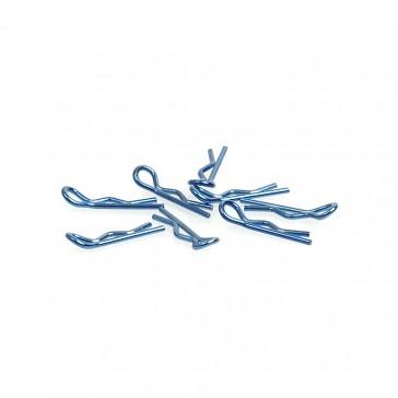 Small Body Clip 1/10 - Metallic Blue (8)