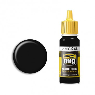 MATT BLACK (17 ML)