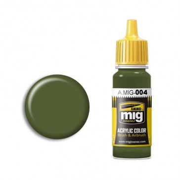 B RESEDA GREEN RAL 6011 (17 ML)
