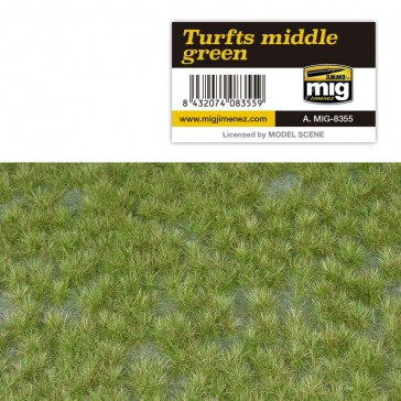 TURFTS MIDDLE GREEN
