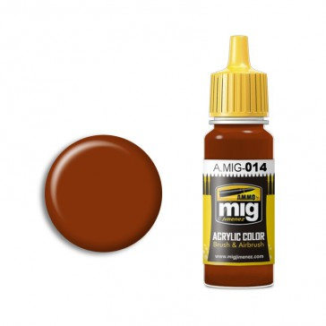 RED-BROWN RAL 8012 (17 ML)