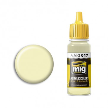 CREAM WHITE RAL 9001 (17 ML)