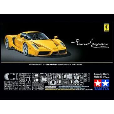 Enzo Ferrari jaune