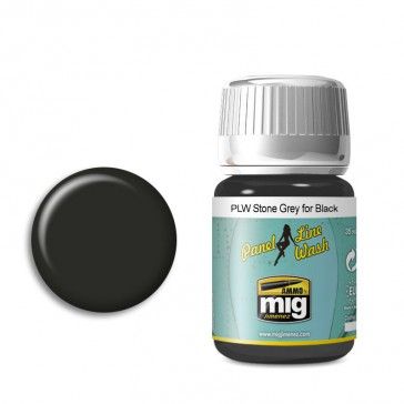 PLW STONE GREY FOR BLACK (35 ML)