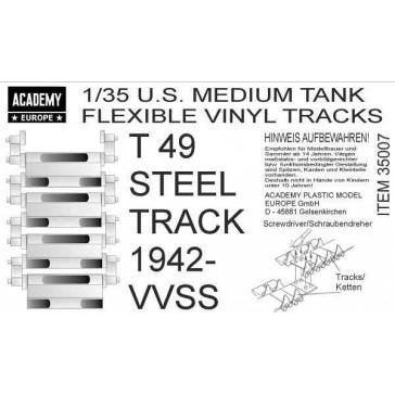 AC EUROPE US Med. Tank Tracks 1/35