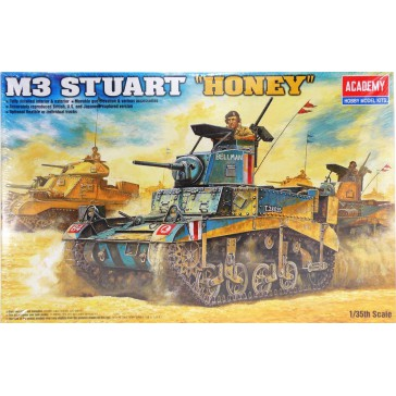 "(1399) British M3 STUART""HONEY""1/35"
