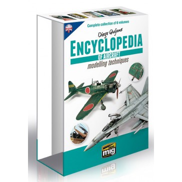 CASE FOR ENCYCLOPEDIA OF AIRCRAFT MOD.