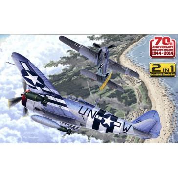 Fw190A-8 & P47D 1/72